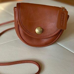 Coach 9826 Crossbody Mini belt bag British Tan